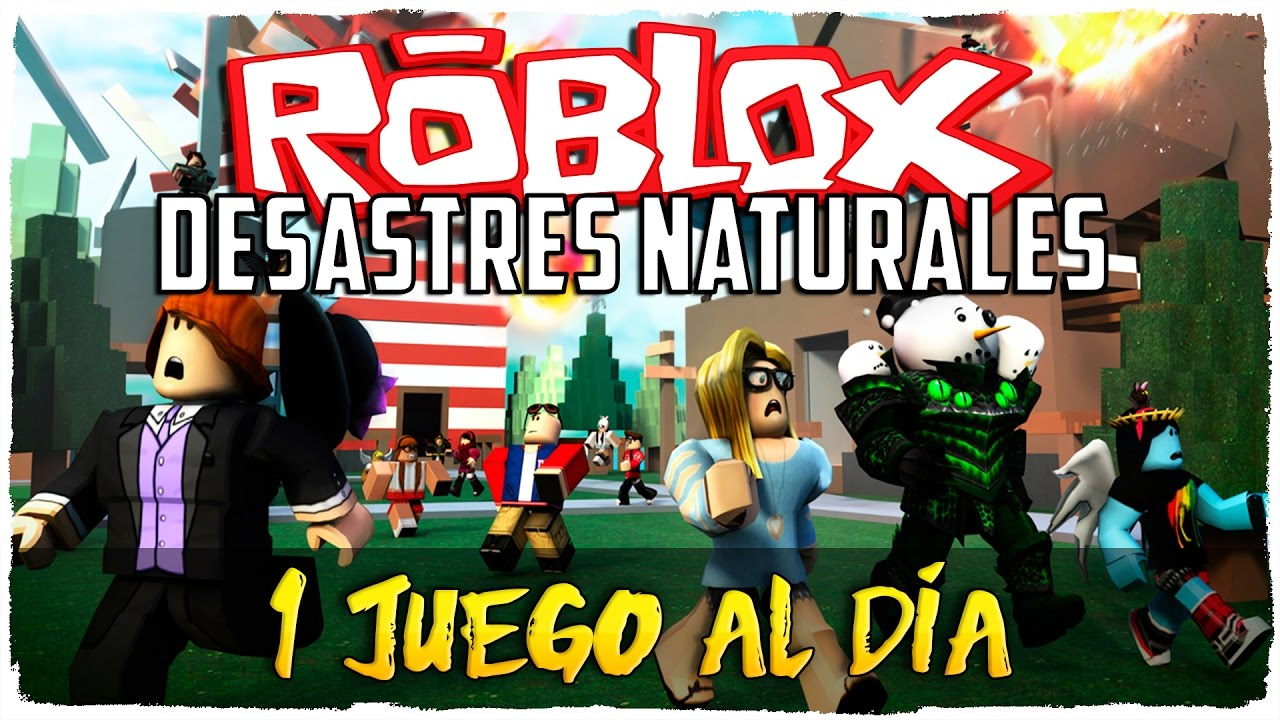 Sobreviviendo A Desastres Naturales Roblox Natural Disasters