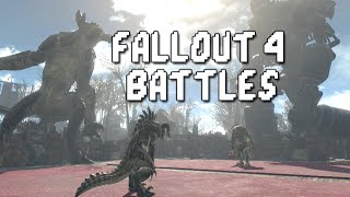 Fallout 4 Battles Swan vs Mirelurk Queen