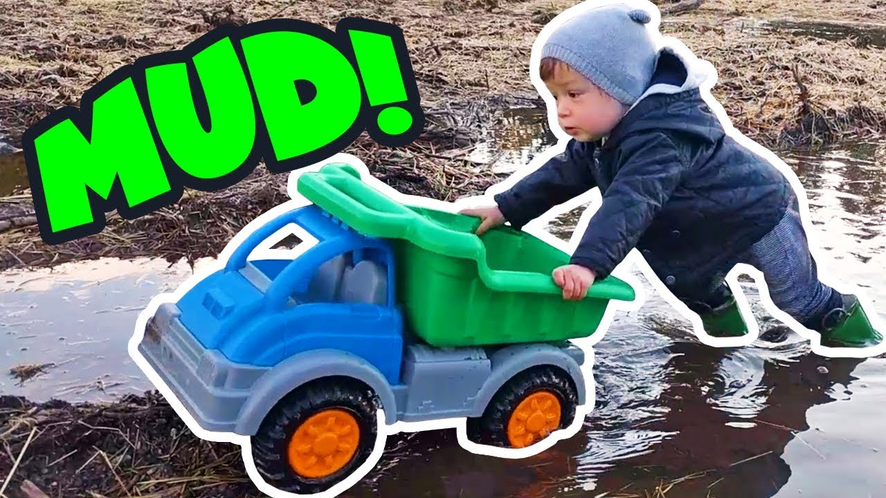 Outdoor mud adventures with toddler boy toys Toddler toy ...