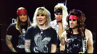 STEEL PANTHER on Thursday Night Football NFL 11-8-18 November 8 2018