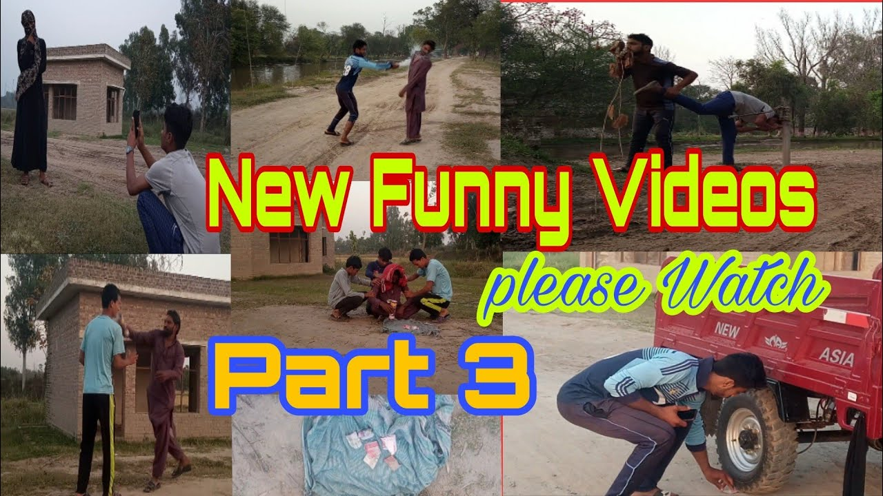 New Funny Video Part 3 | Non-Stop  Comedy Must Watch Funny Video 2021 | Amazing Funny Clip | Luagh
