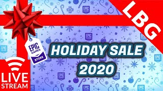 🔴 Epic Games Store Holiday Sale 2020