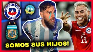 🤬 ARGENTINA vs CHILE (1-1) 😭 Reacción Hincha Argentino | Copa América 2021
