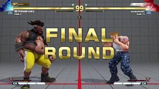 SFVAE - Daigo Umehara (Guile) vs. BBYong (Rank 4 Birdie)