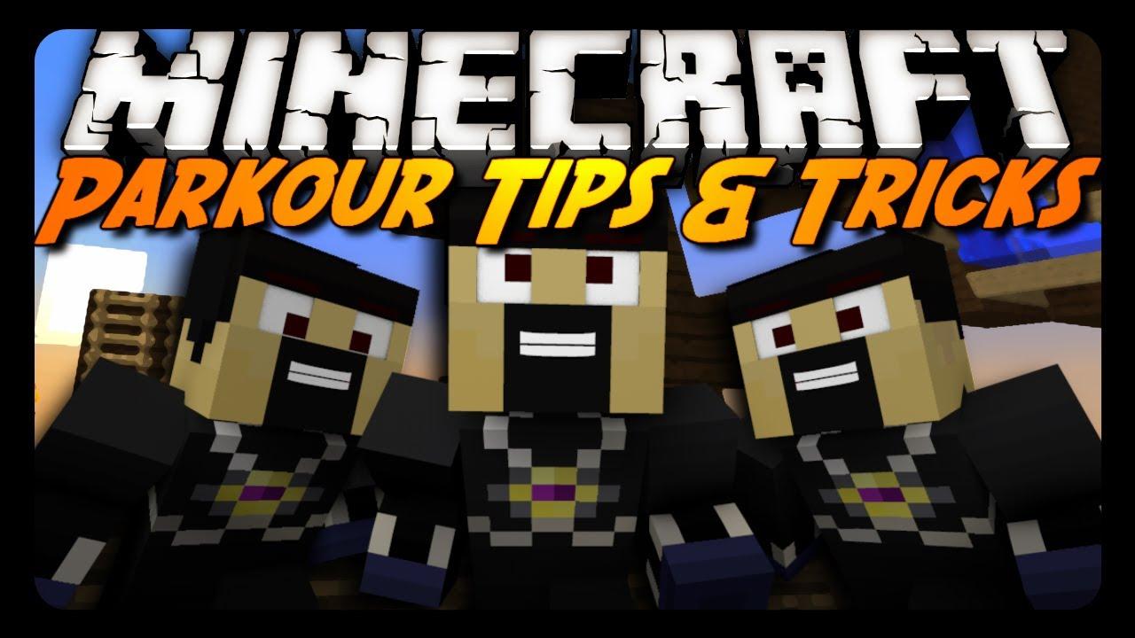 Minecraft Parkour Tips Amp Tricks Water Ladder Jumps