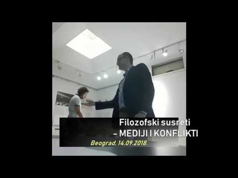 Dragan Radovancevic, Čitanje poezije, Philosophy of Media, Belgrade 2018