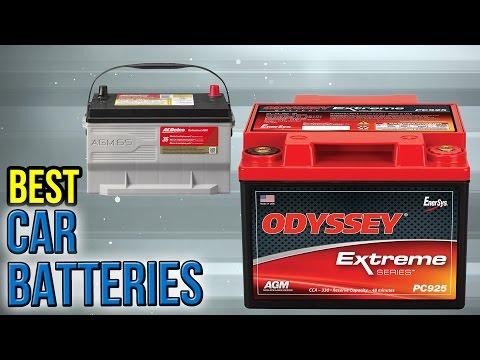 6 Best Car Batteries 2017