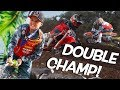Haiden Deegan Wins Two Championship In One Day! Supercross at Mini O's