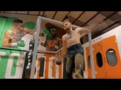 I Am Boxing: Conor McGregor Working the Bag ahead of McGregor vs Mayweather