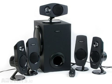 Creative Inspire T6100 - speaker system - For PC - wired Series Specs