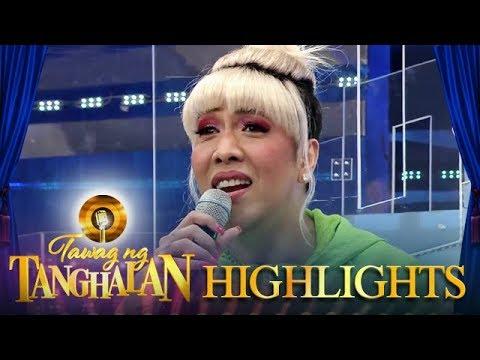 """Vice's voice cracks as he sings """"Sayang na sayang""""   Tawag ng Tanghalan"""