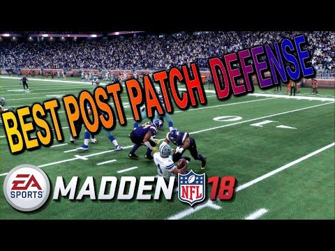 THE BEST DEFENSE EVER:: MADDEN 18 ULTIMATE TEAM USER TIPS+FAST BLITZES+LOCK DOWN COVERAGE