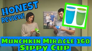 Our Families HONEST Review of the Munchkin Miracle 360 Sippy Cup