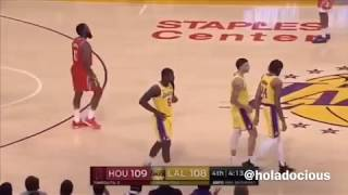 Rockets vs Lakers Brawl Funny Holadocious Voiceover! (what really happened!)