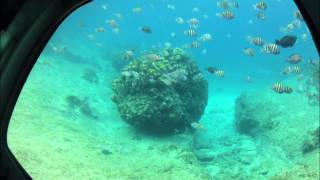 Cozumel Semi-Submersible Time Lapse