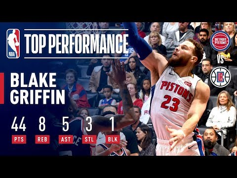 Blake Griffin (44 Points) Takes Over In His Return To LA | January 12, 2019