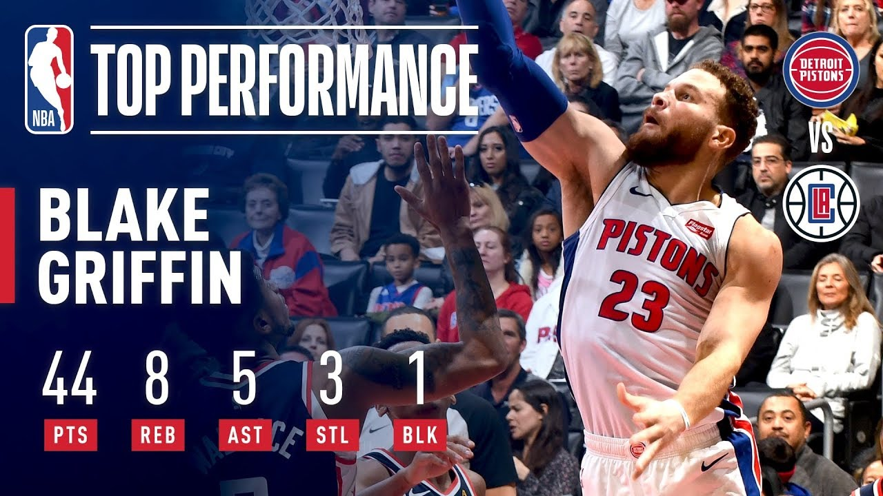 a60b1b1ed08f Blake Griffin (44 Points) Takes Over In His Return To LA