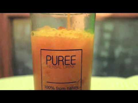 PUREE Herbal Drink Commercial Ads