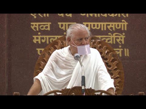 Indore Chaturmas - 01-07-2017  मोक्ष के लिए जरूरी हैं मानव जीवन  भाग-1