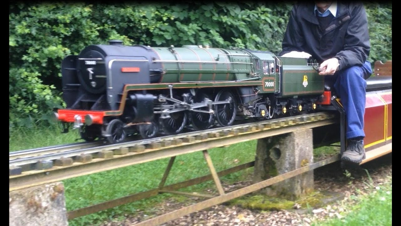 5 inch Gauge BR Standard Class 7 70000 Britannia Live Steam Locomotive