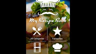 My Recipe Book - Android Application Template [NAVATEMPLATE.COM]