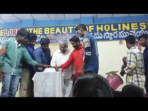 My pastor gaari birthday celebration with youth