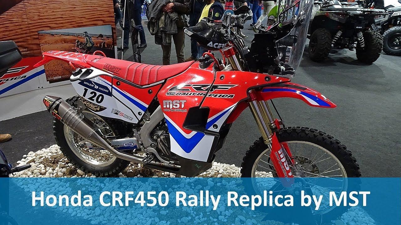 Honda Crf450 Rally Replica By Mst Youtube