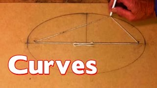 Marking Out Woodwork - CURVES