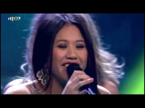 Salome Pieris - Kontestan The Voice Of Holland Tahun 2012 Berdarah Maluku