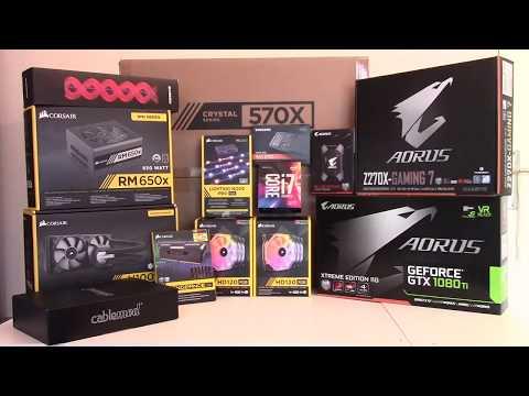 Time Lapse Build PC - Blue Caribbean [3000€]