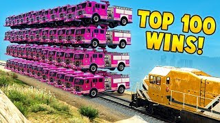 TOP 100 MOST INSANE GTA 5 WINS EVER! (Funny Moments Grand Theft Auto V Compilation)