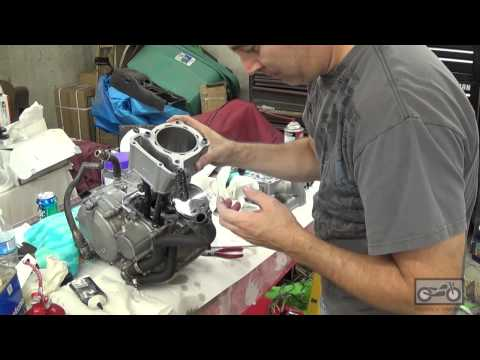 """How to build a motorcycle engine - KLX 351 """"Katsumi"""""""