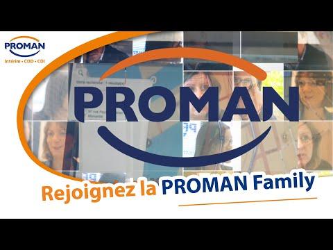 Rejoignez la PROMAN family !