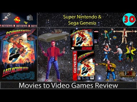 Movies to Video Games Review -- Last Action Hero (SNES & GEN)