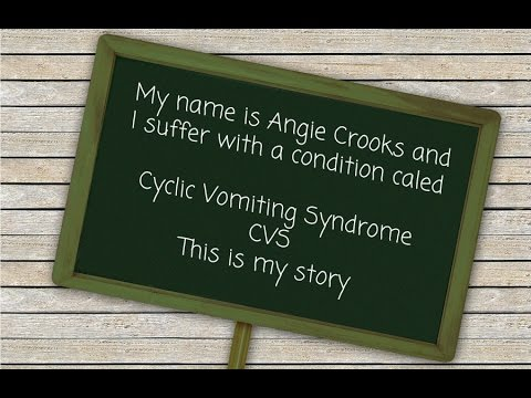 Cyclic Vomiting Syndrome (CVS) Awareness Story - Angie Crooks