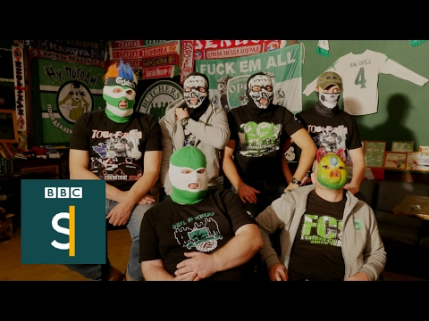 Russia's football hooligans: Orel Butchers - BBC Stories