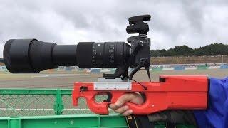 超望遠レンズ用カメラブレース作ってみた