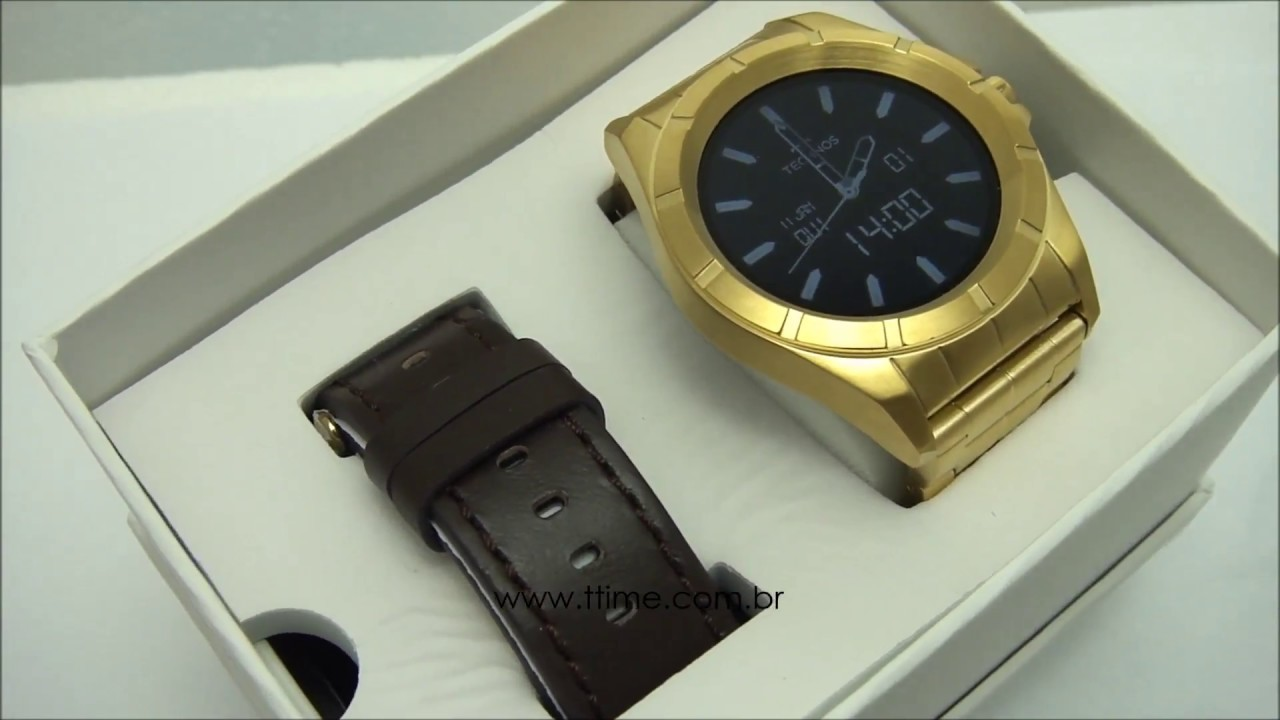 68ba5f9026a RELÓGIO TECHNOS CONNECT SRAB 4P - SMARTWATCH - YouTube