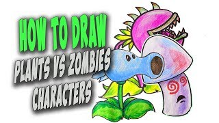 How To Draw Plants vs Zombies Characters / My Collection [59 min]