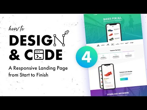 Design & Code a Responsive Landing Page from Start to Finish | Visual Design Part 1 - StyleTile