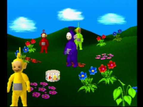 Play With The Teletubbies (PS1 Version) Walkthrough