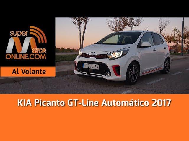 KIA Picanto GT Line 2017 / Al volante / Prueba dinámica / Review / Supermotoronline.com