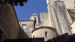 Жирона -город крепость Река Оньяр Кафедральный собор #Испания#Жирона#