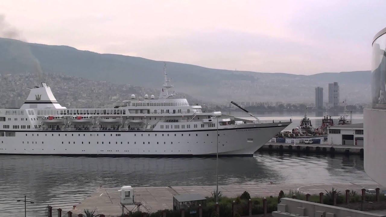 Aegean Odyssey Cruise Ship Izmir April YouTube - Royal odyssey cruise ship