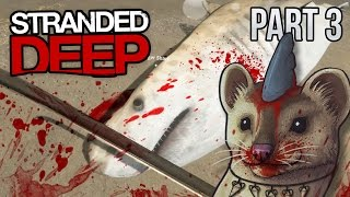 KILLING A SHARK - Stranded Deep Gameplay Part 3 ★ Sharks, Compass, Bugs - Let