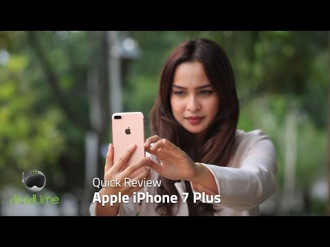 Apple iPhone 7 Plus Quick Review Indonesia