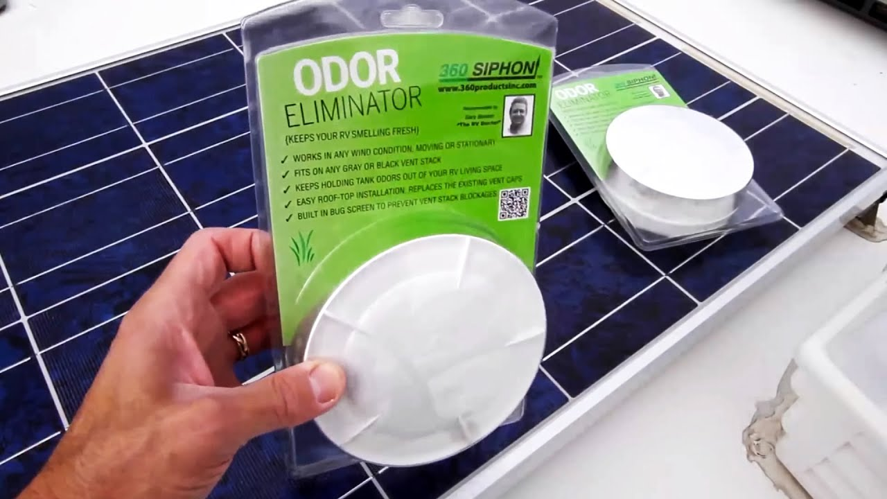 Stop Rv Tank Odor With Rv 360 Siphon Vents Youtube