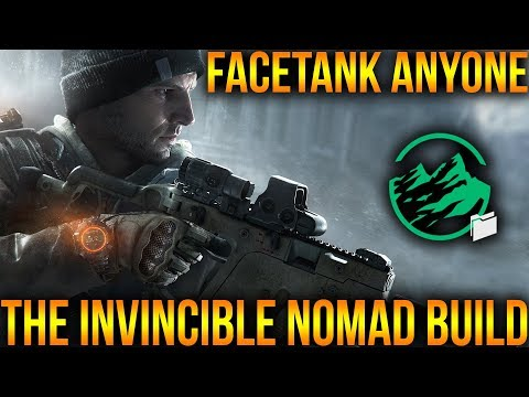 BEST FACE TANK BUILD IN THE DIVISION | INVINCIBLE NOMAD PVP BUILD | HOW TO BUILD CLASSIFIED NOMAD