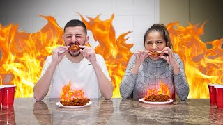 We ate the HOTTEST FOOD IN MY CITY! *Bad Idea*