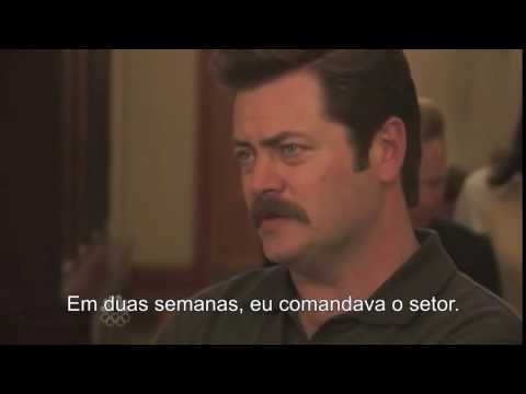 """Ron Swanson: """"Child labor laws are ruining this country"""". Trabalho Infantil - Legendado"""
